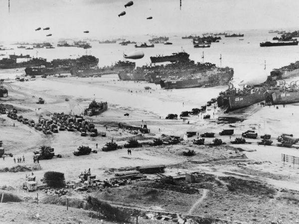 normandy beach 1944